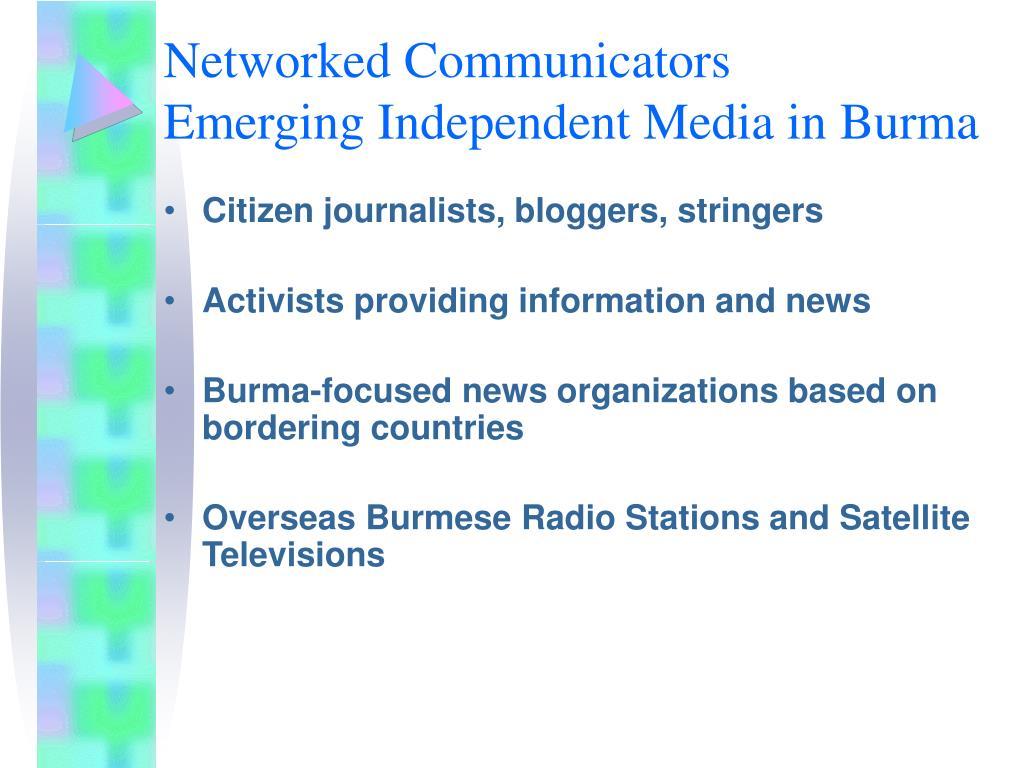 Networked Communicators