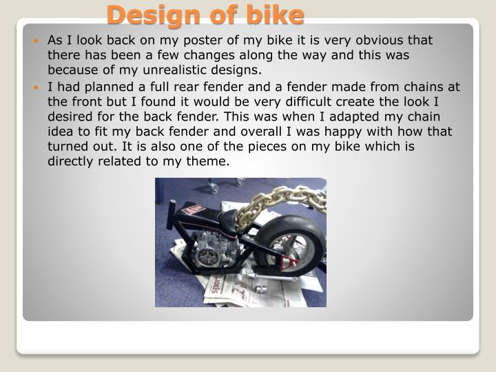 Design of bike
