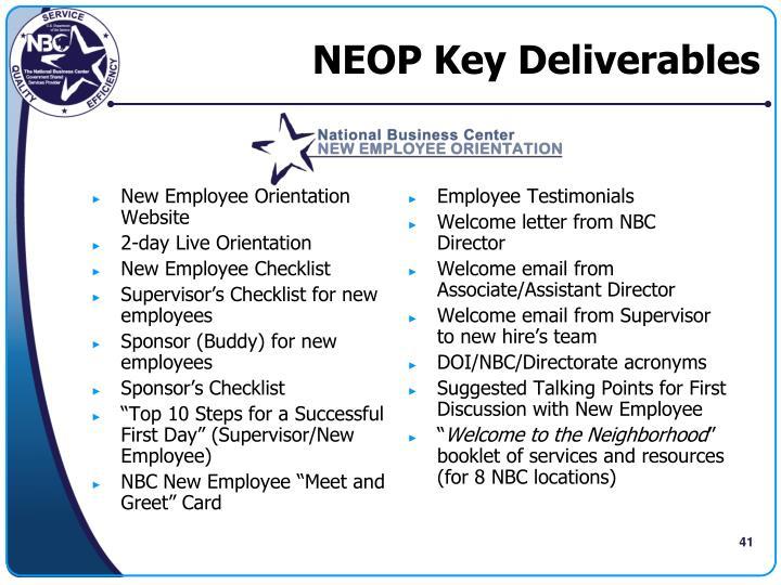 new employee orientation website