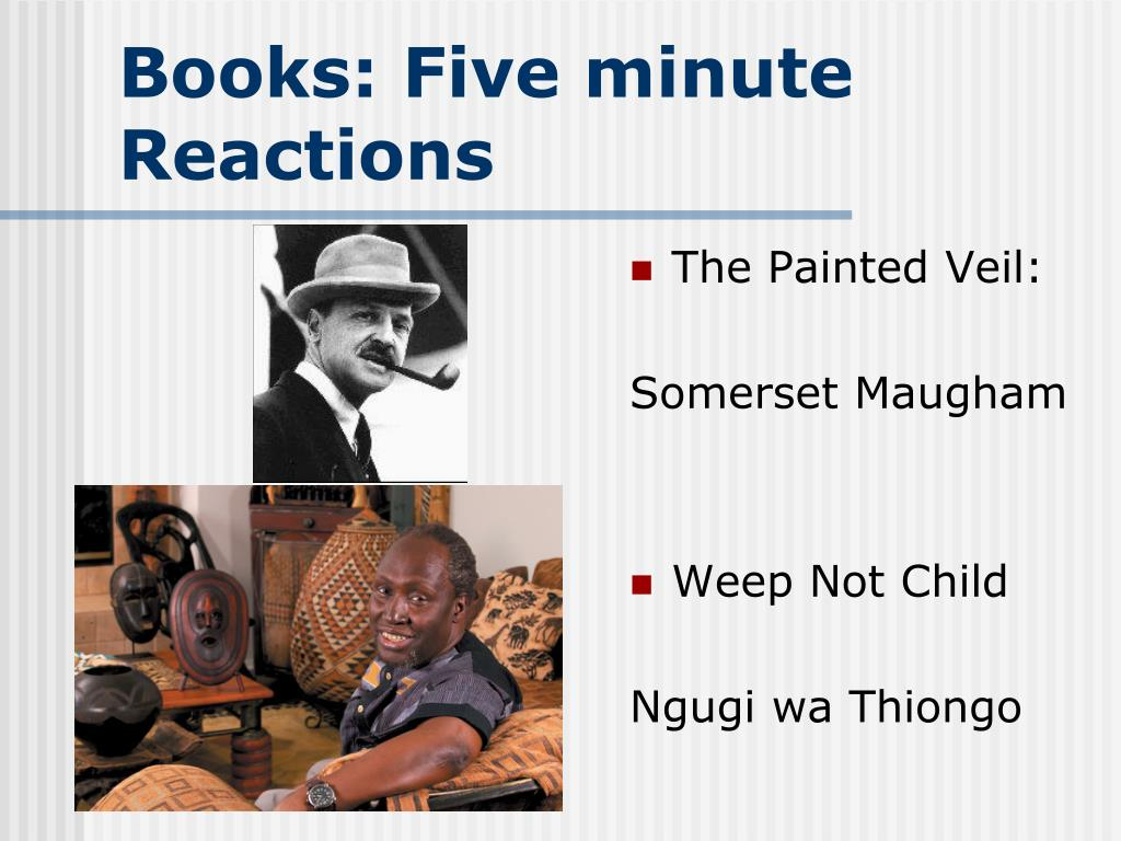 Books: Five minute Reactions