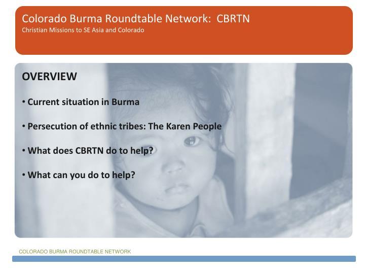 Colorado burma roundtable network cbrtn christian missions to se asia and colorado2