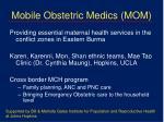 mobile obstetric medics mom