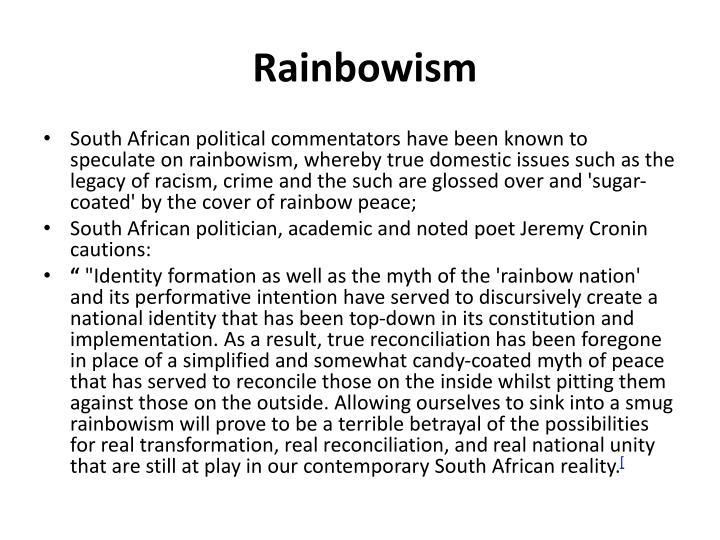 Rainbowism