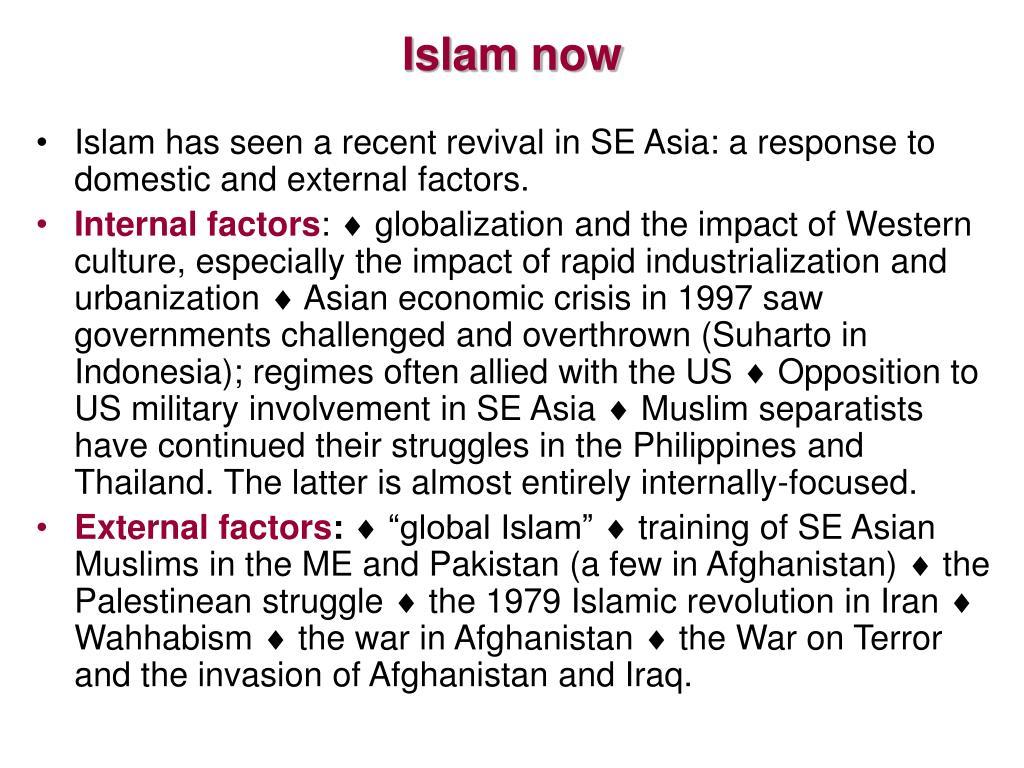 Islam now