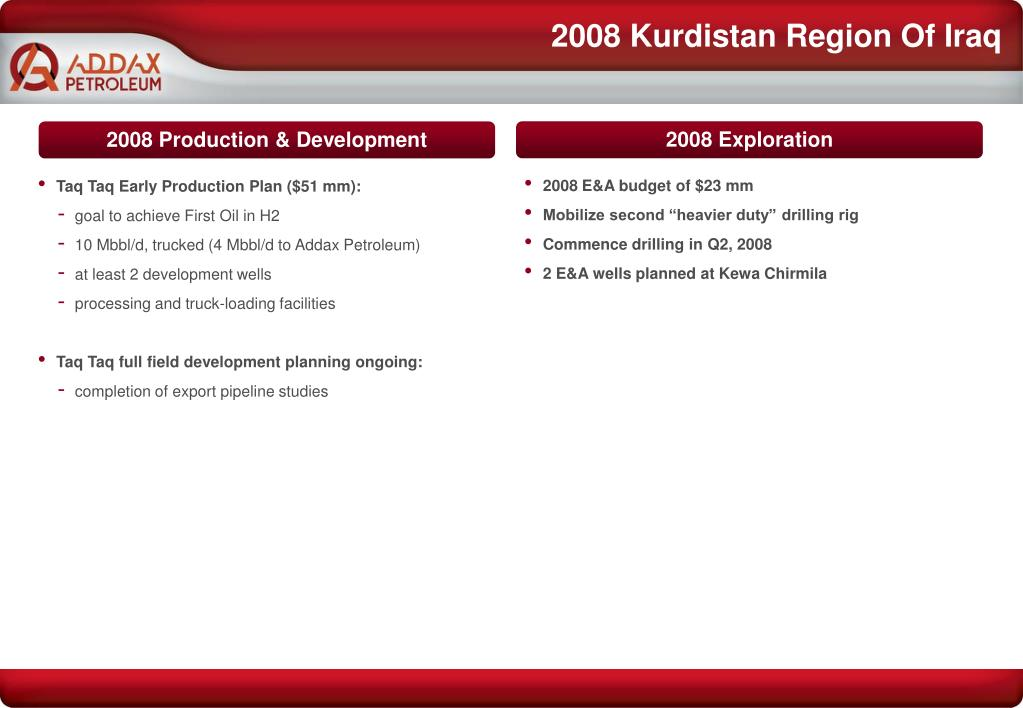 2008 Kurdistan Region Of Iraq