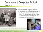 government computer ethical issues20
