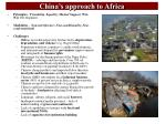 china s approach to africa