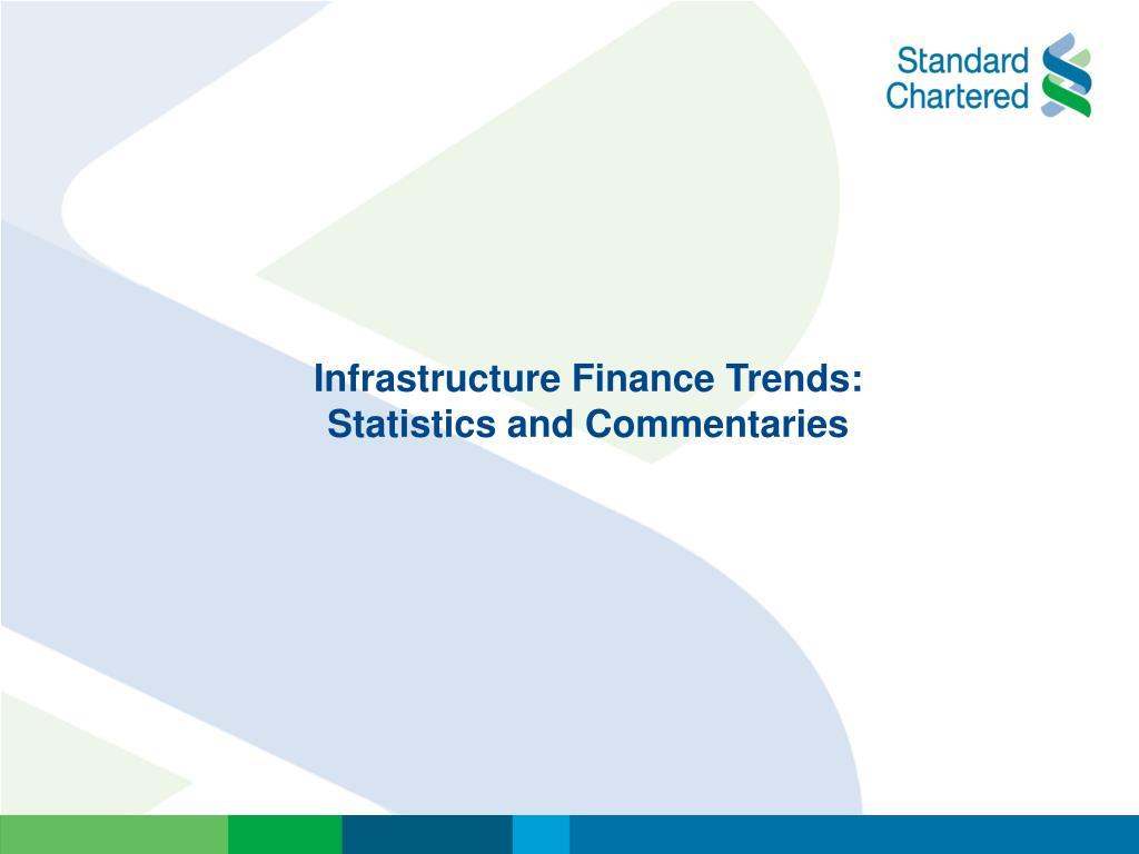 Infrastructure Finance Trends: