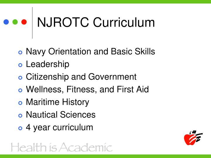 NJROTC Curriculum