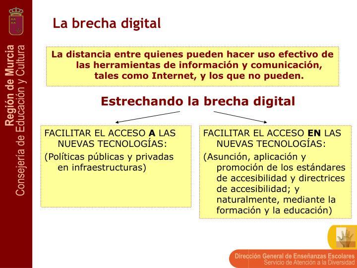 La brecha digital