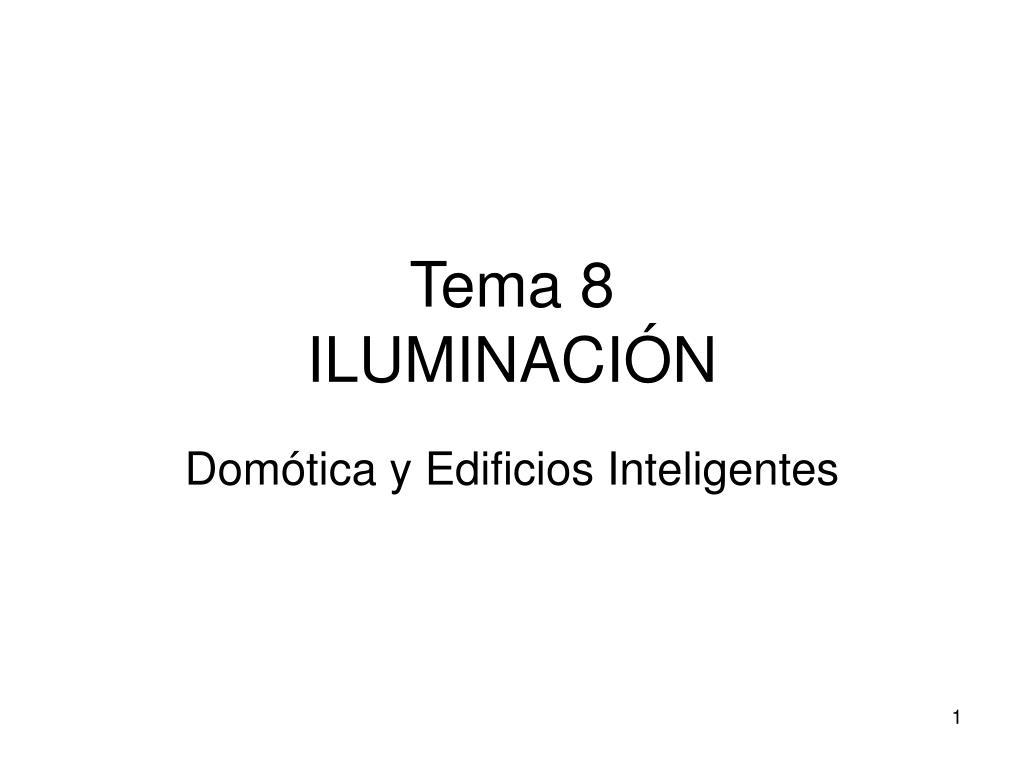 tema 8 iluminaci n l.
