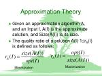 approximation theory2