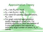 approximation theory5