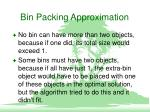 bin packing approximation3