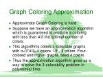 graph coloring approximation4