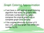 graph coloring approximation8