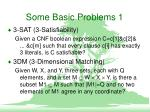 some basic problems 1