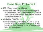 some basic problems 4