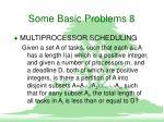 some basic problems 8