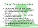 subset sum approximation3