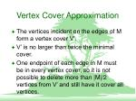 vertex cover approximation1