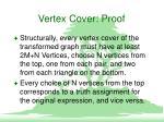 vertex cover proof