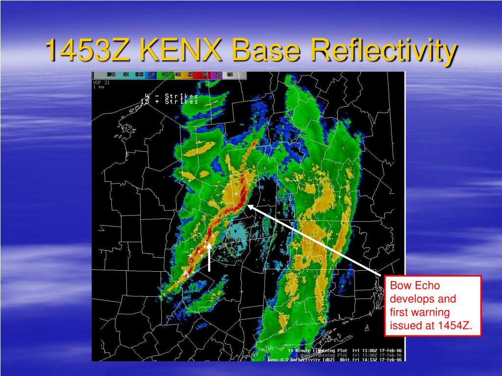 1453Z KENX Base Reflectivity