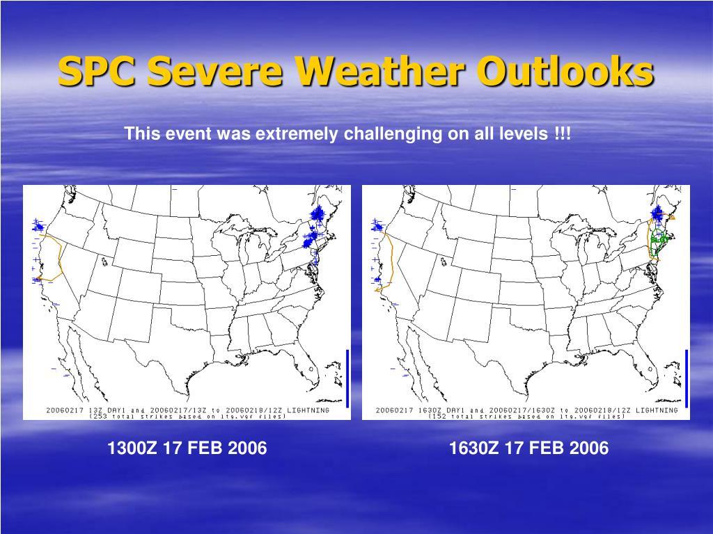 SPC Severe Weather Outlooks