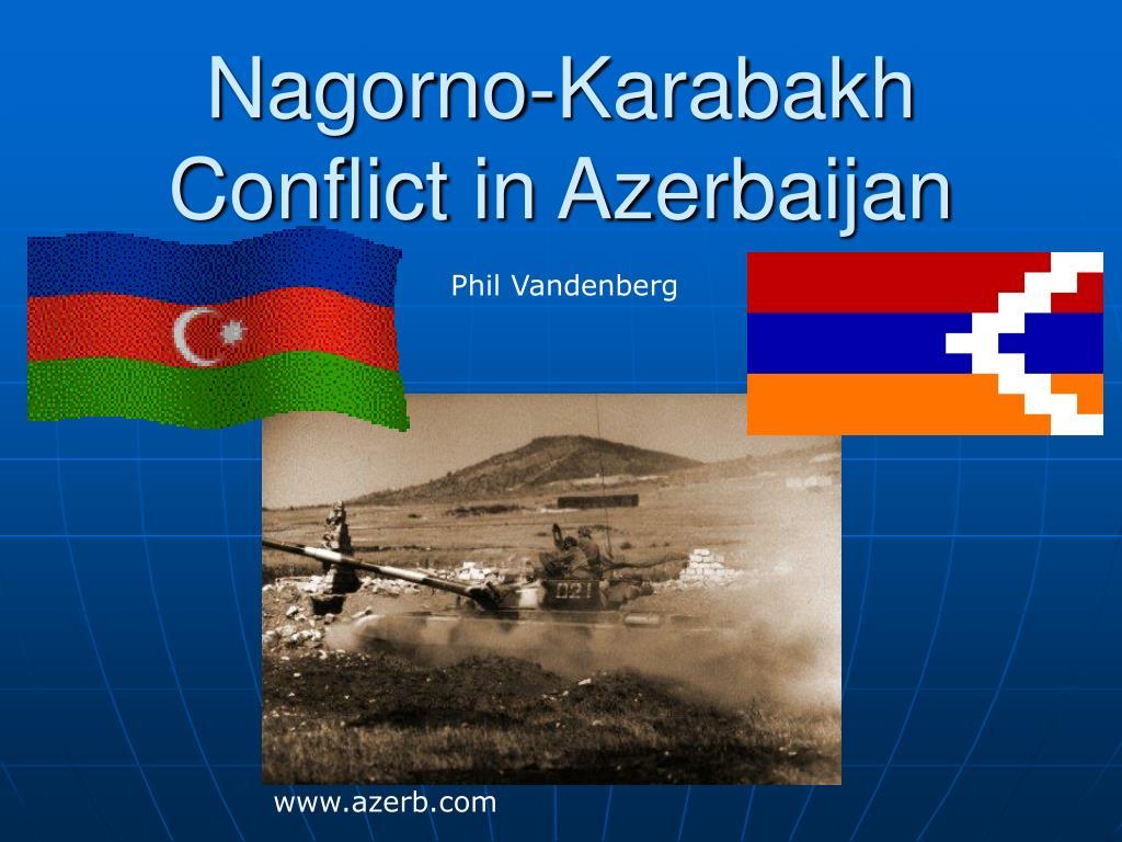nagorno karabakh conflict in azerbaijan l.