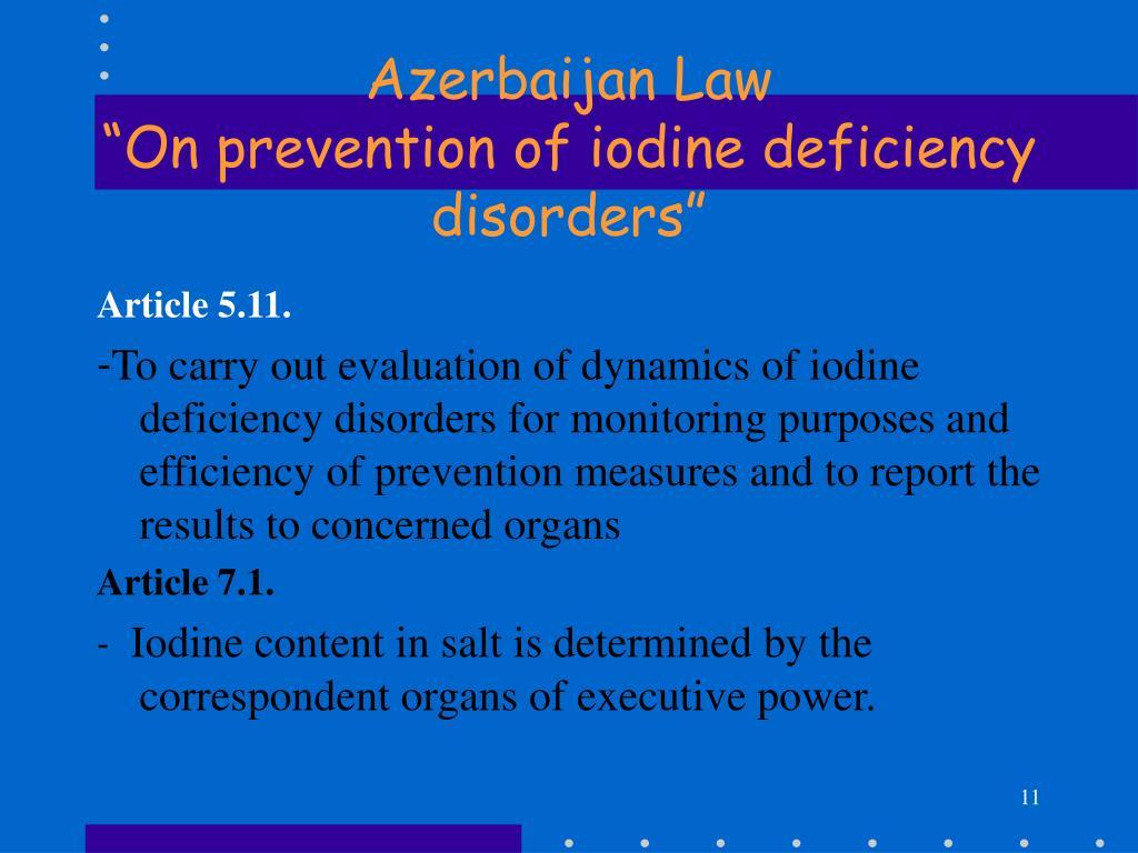 Azerbaijan Law