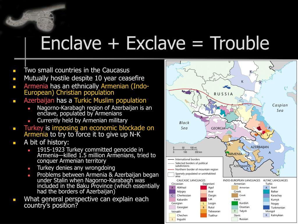 Enclave + Exclave = Trouble