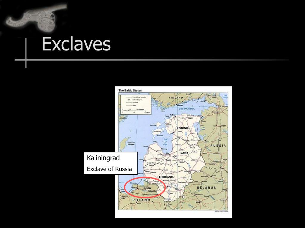 Exclaves