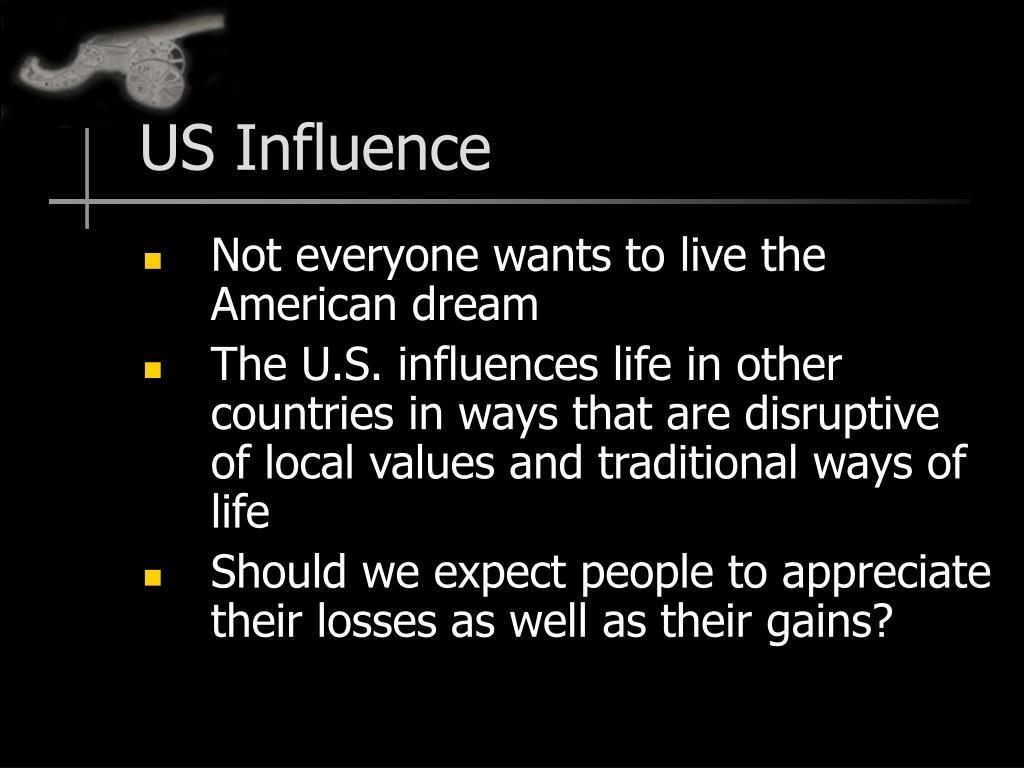 US Influence