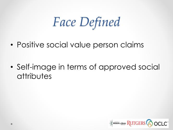 Face Defined