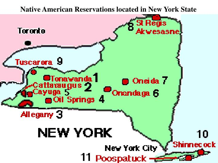 Indian Reservations In New York Long Island