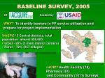 baseline survey 2005