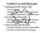 turkey azerbaijan