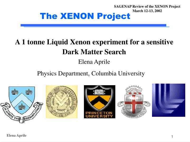 the xenon project n.