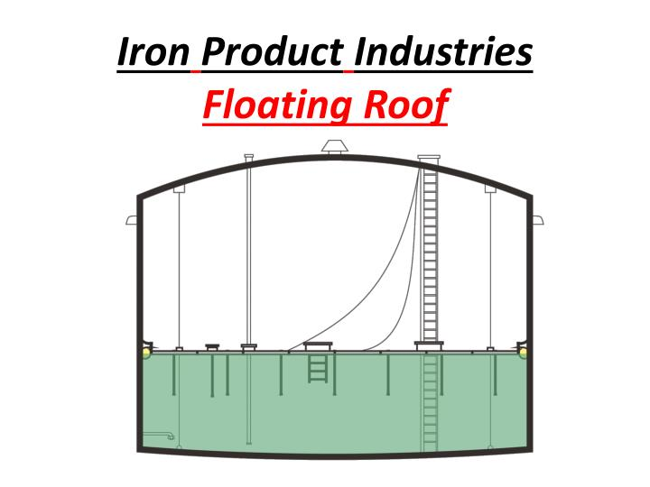 iron product industries floating roof n.