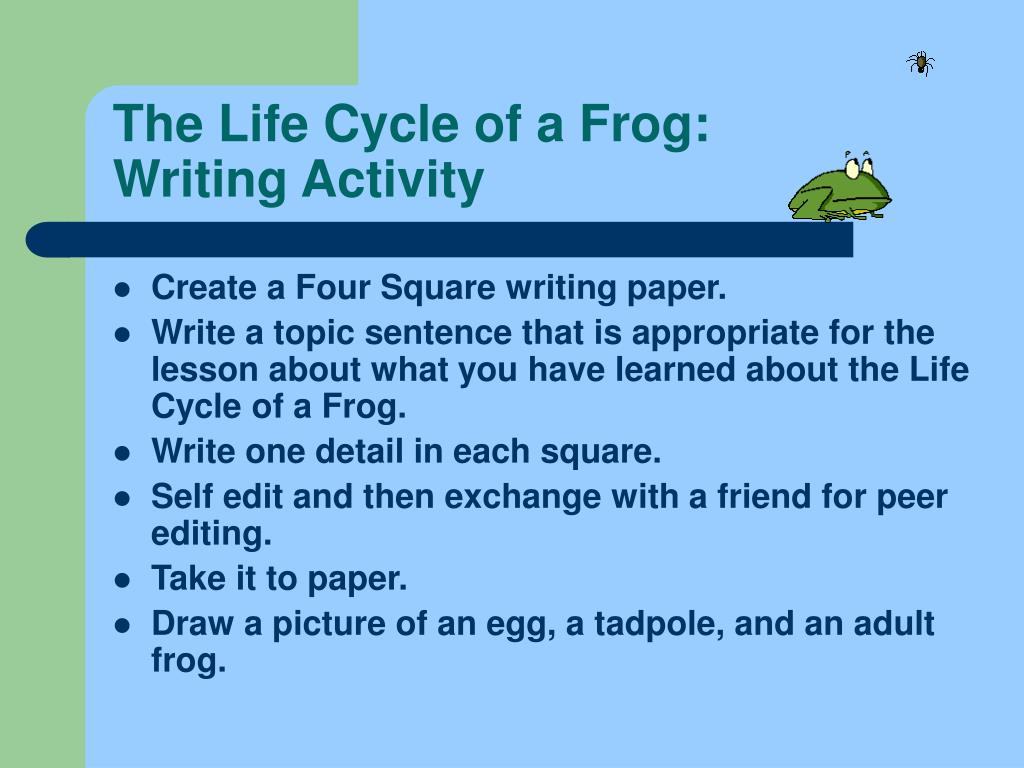 The Life Cycle of a Frog: