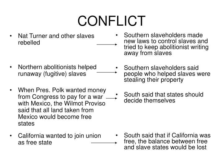 Nat Turner and other slaves rebelled