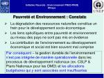 initiative pauvret environnement pnud pnue afrique4