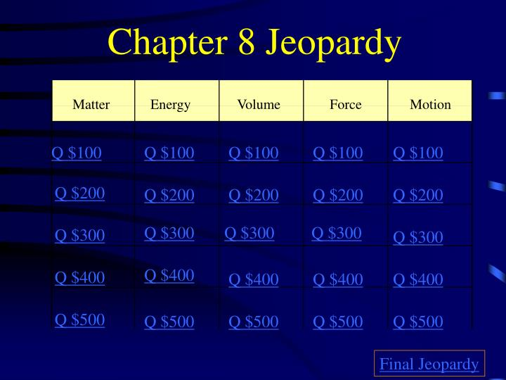 chapter 8 jeopardy