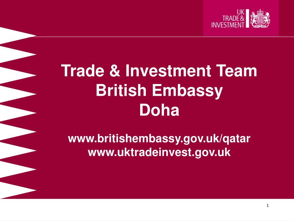 Trade & Investment Team