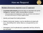 how we respond1