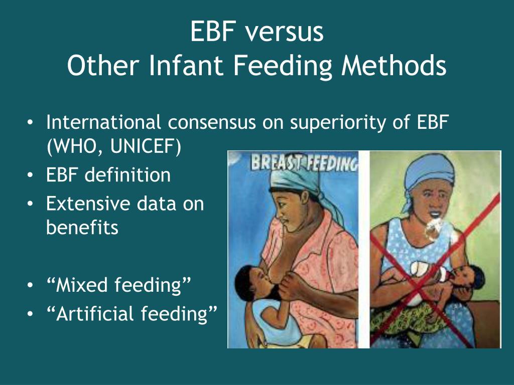 EBF versus