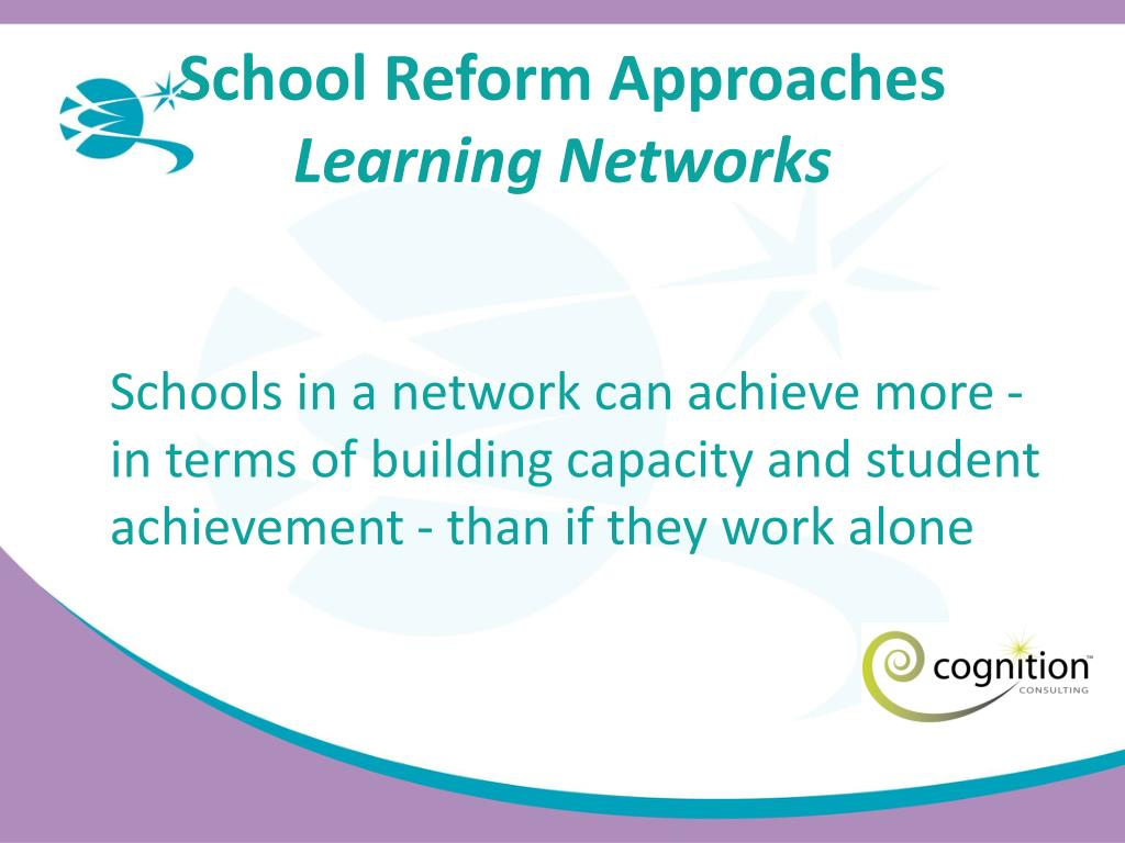 School Reform Approaches