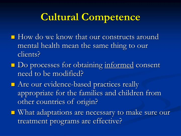 addressing cultural health care needs Becoming a culturally competent health care organization outlines 16  benefits of organizations' ability to meet the healthcare needs of.