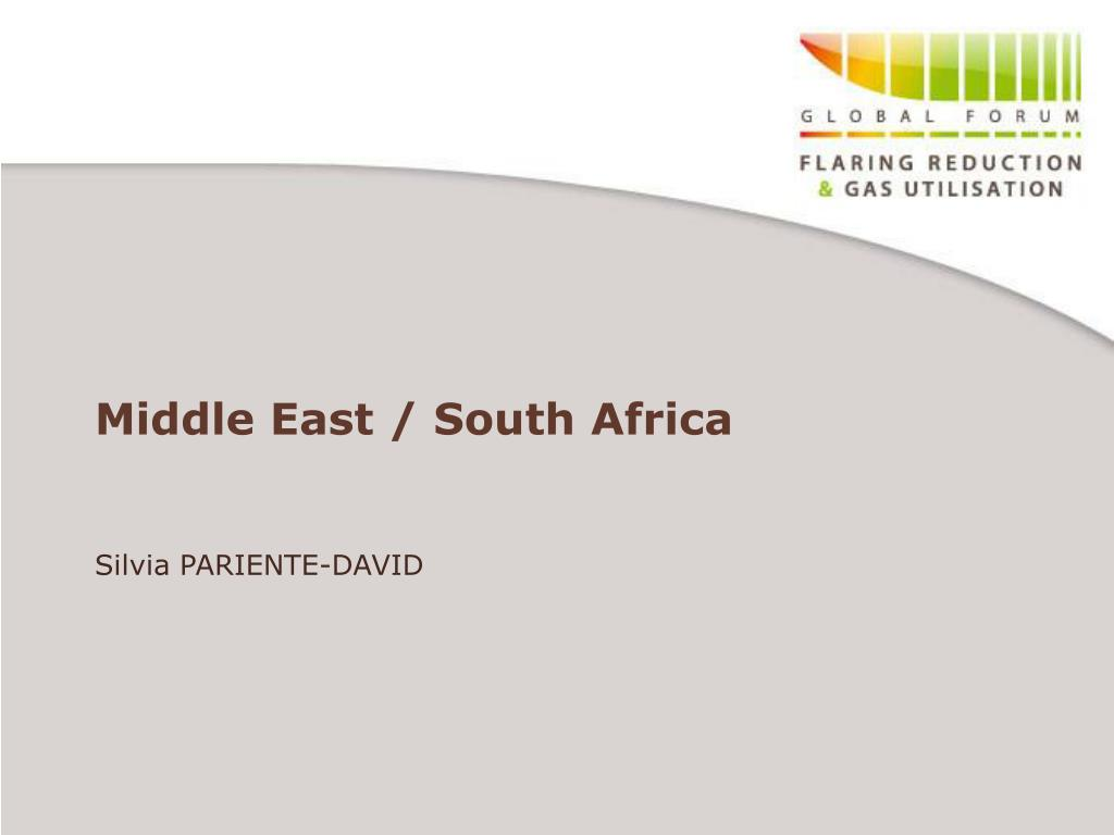 Middle East / South Africa