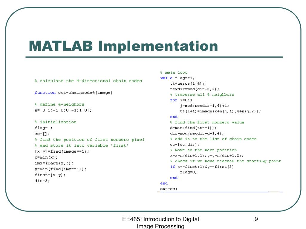 PPT - A MATLAB Tour of Binary Image Analysis PowerPoint Presentation